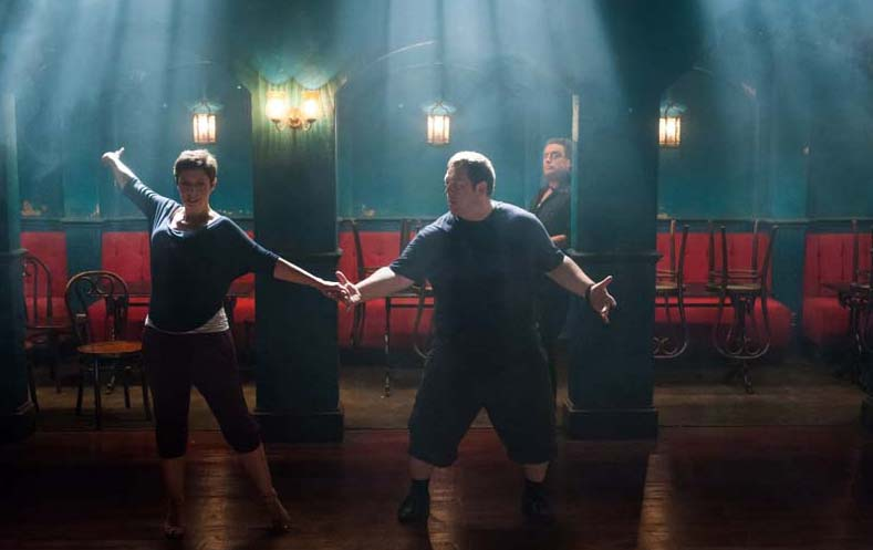 "Olivia Coleman, Nick Frost in ""Cuban Fury"" eOne Entertainment"